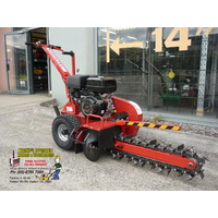 "TRENCHER 24"" 600mm 15 HP Petrol Engine 4 stroke Ditch Digger Witch"